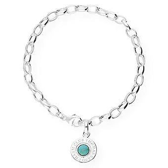 Thomas Sabo armband med silver Woman charm-X0229-404 -17-L 19,5
