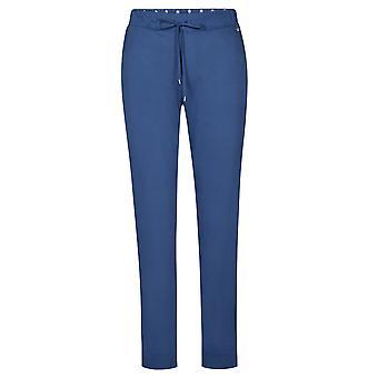 Feraud 3191085-10092 Women's Casual Chic Indigo Blue Cotton Loungewear Pant