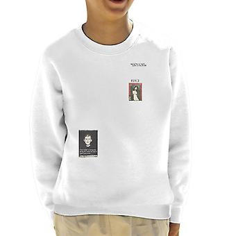 A.P.O.H Munch Fear Of Photography Quote Kid's Sweatshirt