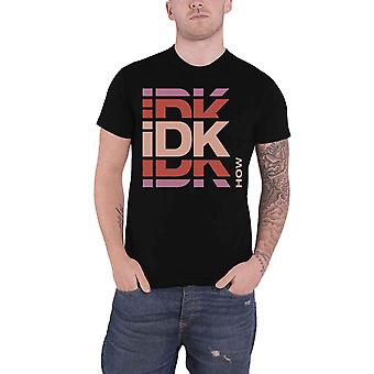 IDKHow T Shirt Branded Band Logo new Official Mens Black