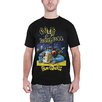 Snoop Dogg T Shirt Gin And Juice Logo new Official Mens Black