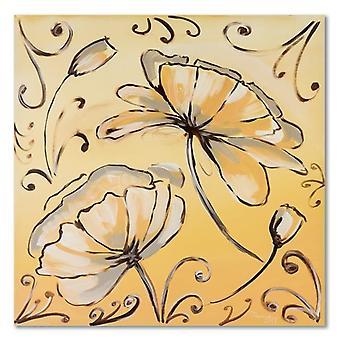 Lienzo, Imagen sobre lienzo, Flores 2