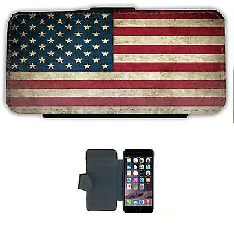 USA Flag iPhone 6/6s wallet case Pouch wallet Shell