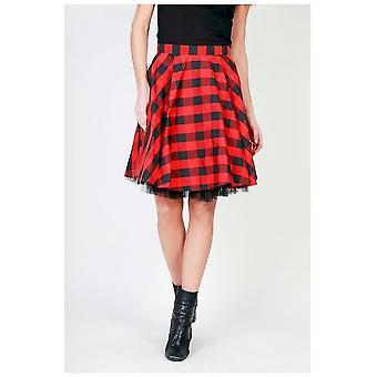 Pinko-kleding-rokken-1G12VS-6503_ZRZ9-vrouwen-rood, zwart-38