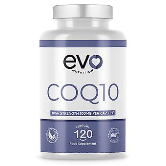 CoQ10 (120 Capsules) 100g Maximum Potency - Evo Nutrition