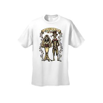 Menn ' s Hasta que la Muerte NOS separe kort ermet T-skjorte