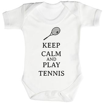 Roe spille Tennis Baby Body / Babygrow