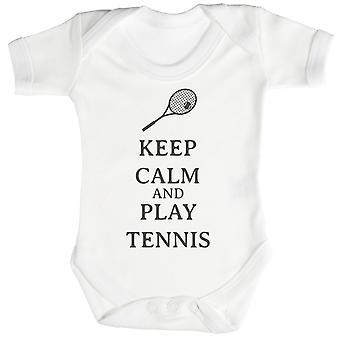 Calma juego tenis Body de bebé / Pelele
