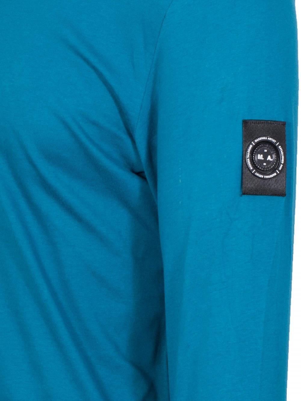 Marshall Artist Teal Garment Dyed T-Shirt