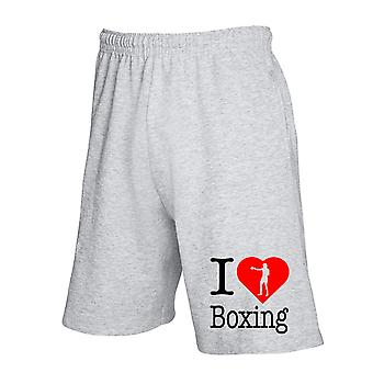 Pantaloncini tuta grigio wtc1666 i love boxing