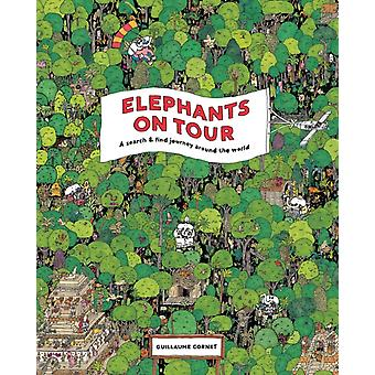 Elephants on Tour by Guillaume Cornet