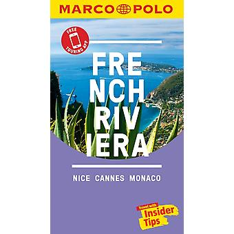 French Riviera Marco Polo Pocket Travel Guide  with pull ou