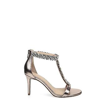 BADGLEY MISCHKA Womens janna Open Toe Ankle Strap Classic Pumps
