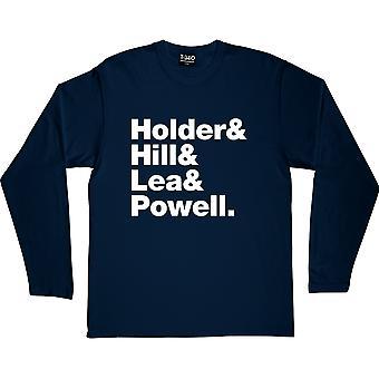 T-shirt à manches longues Slade Line-Up Navy Blue