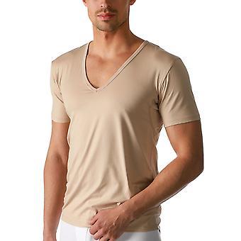 Mey 46038-111 Men's Dry Cotton Light Skin Beige Short Sleeve Top