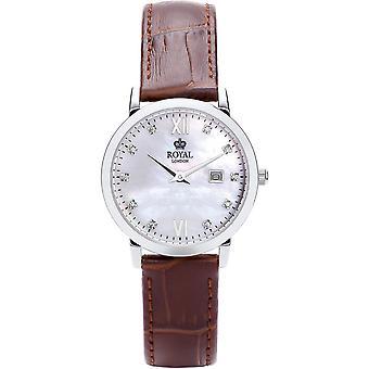 Watch Royal London 21199-02 - Leather Brown Vintage woman