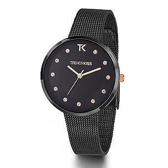 TM10086-20 - watch Bracelet Milanese black woman