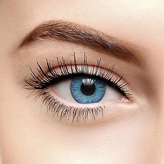 Blue Emerald Tri Tone Colored Contact Lenses (90 Day)