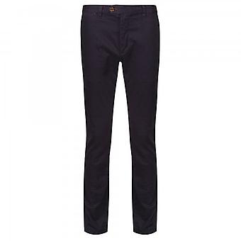 Ted Baker Procur Slim Fit Chino Trousers Navy Blue
