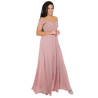 KRISP kvinnor Prom maxi klänning på off Shoulder Ball klänning kväll bröllop lång fest