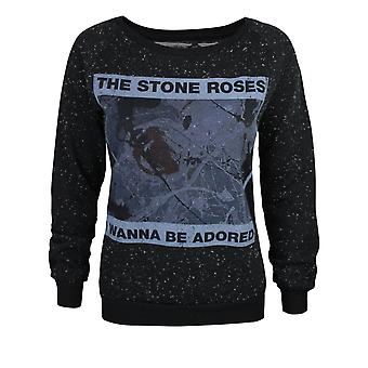 Amplified Stone Roses I Wanna Be Adored Women's Sweater
