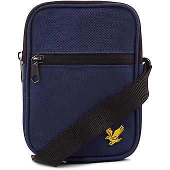 Lyle & Scott Cross Body Messenger Bag Navy 44