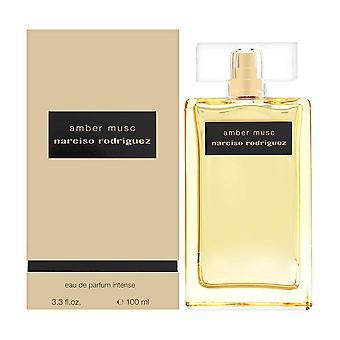 Narciso rodriguez amber musc for her 3.3 oz eau de parfum intense spray