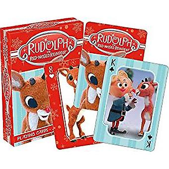 Playing Card - Rudolph - Fotos Poker Games New 52602