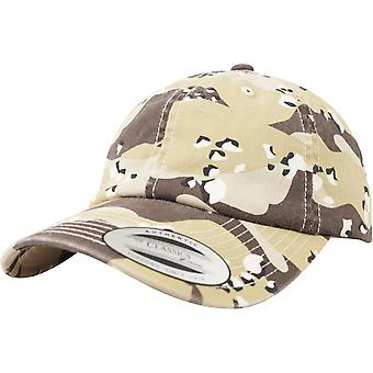 Flexfit by Yupoong Mens Low Profile Camo Washed Baseball Cap