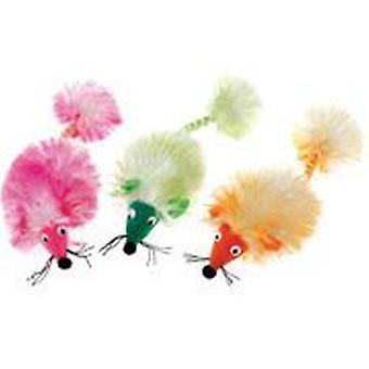 Classic For Pets Glamour Pom Pom Mouse (Chats , Jouets , Peluches et plumes)