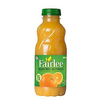 Fairlee Orange 100 pour cent De jus Plstc-( 300 Ml X 24 Bouteilles )