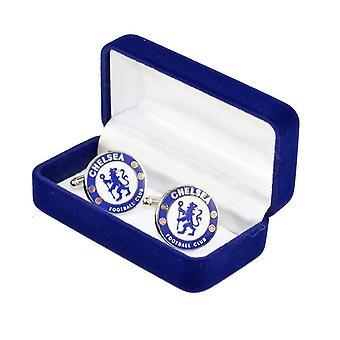 Chelsea FC férfi hivatalos Metal Football Crest Mandzsettagombok