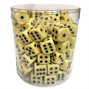 Dice - D6 Megapack 100-Pack 14mm Board Game Role Playing Game