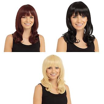 Bristol Novelty Womens/Ladies Gabriella Wig