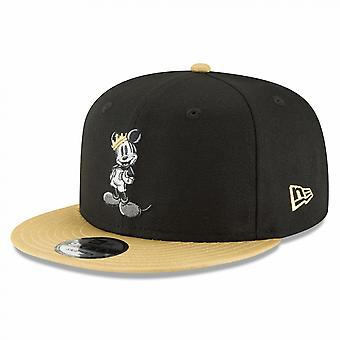 Mickey Mouse Gold Brim New Era 9Fifty Adjustable Hat