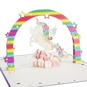 Cardology Unicorn Pop Up Card