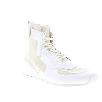 Camper Nothing  Mens Beige Tan Leather High Top Sneakers Shoes