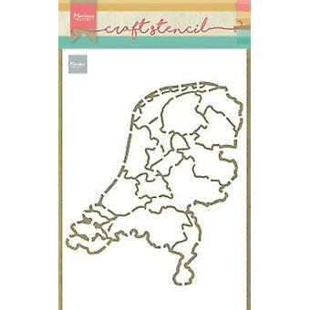 Marianne Design Craft Stencil The Netherlands Ps8059 210x149mm