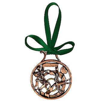 5. Tag der Weihnachten Ornament Kupfer