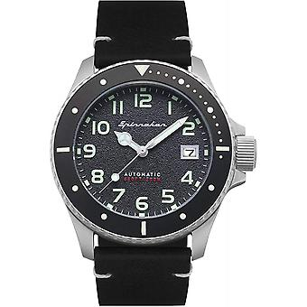 Spinnaker SP-5066-01 Gent's Spence Black Dial Wristwatch