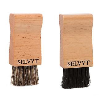 Selvyt Jar Brush - Black and Natural