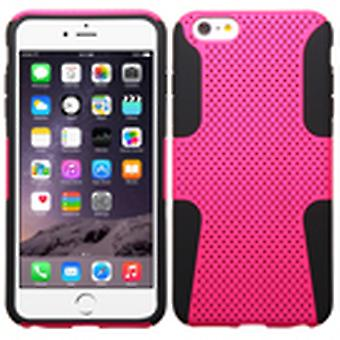ASMYNA Astronoot Protector Veske til iPhone 6s Plus / 6 Plus - Hot Pink / Black