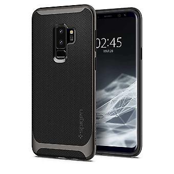 Spigen Backcover Hoesje Neo Hybrid Samsung Galaxy S9 Plus - Zilver/zwart