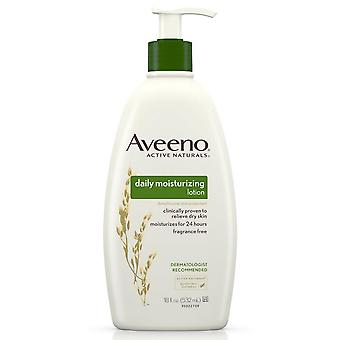 Aveeno daily moisturizing lotion with soothing oat, 18 oz
