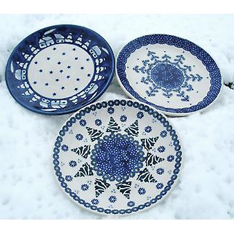 3 tea plates, ø 18 cm, winter - BSN z-100