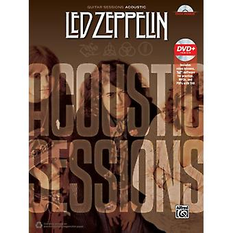 Guitar Sessions  Led Zeppelin Acoustic  Book amp DVD by Led Zeppelin