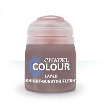 Knight-Questor Flesh (12ml) ,Citadel Paint Layer, Warhammer 40,000