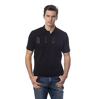 Rich John Richmond Black T-shirt -- RI99500208