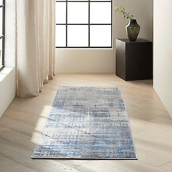 Calvin Klein Torrent Designer Hallway Runner Ck980 Ivory Grey Blue