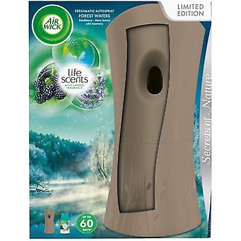 Air Wick Freshmatic Autospray holder og genopfylde 250ml - Forest Waters